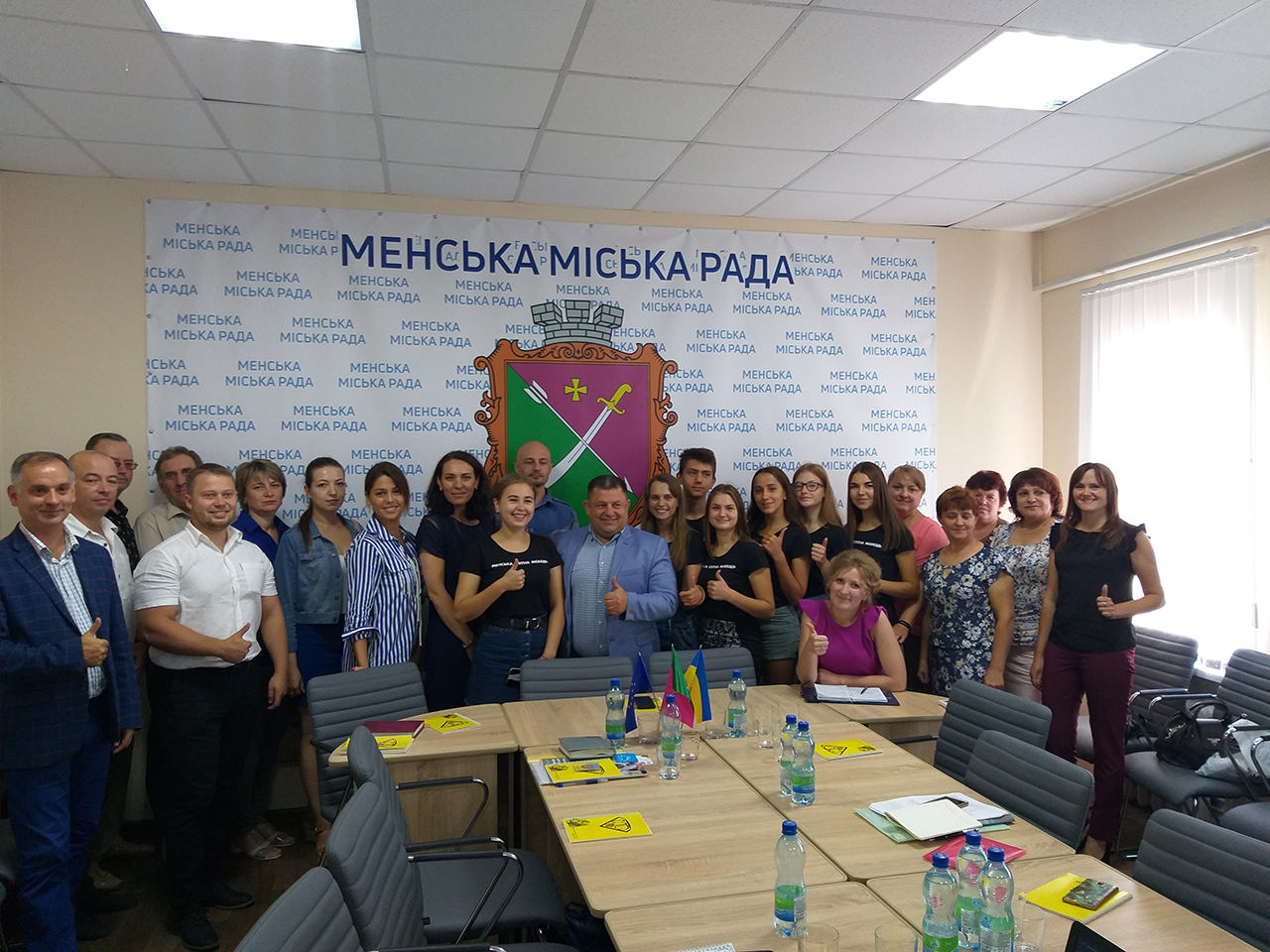 Menskoye UTC held its first working meeting on the initiative