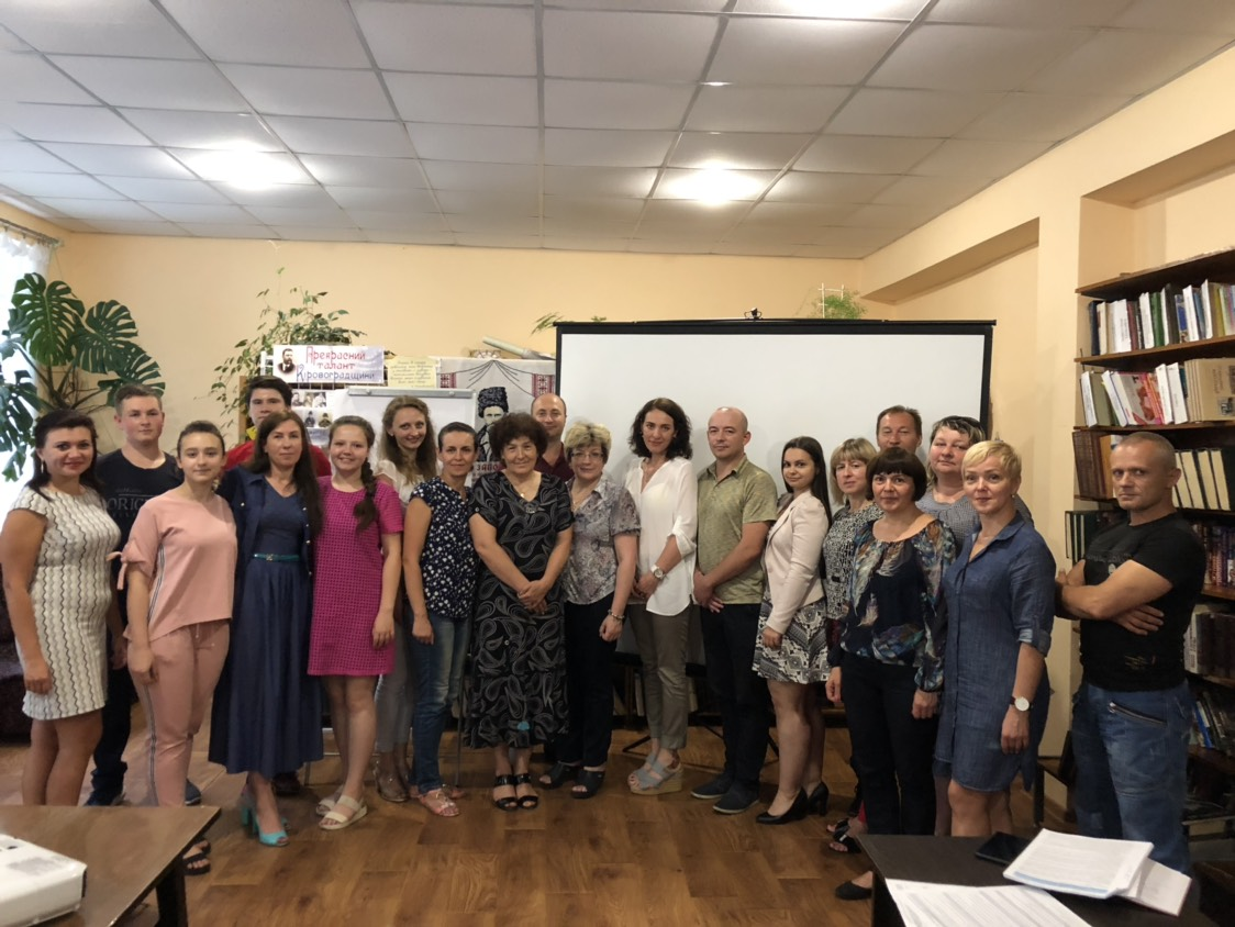 Working meeting at NewUkrainian ATC on June 23, 2018 within the framework of the initiative