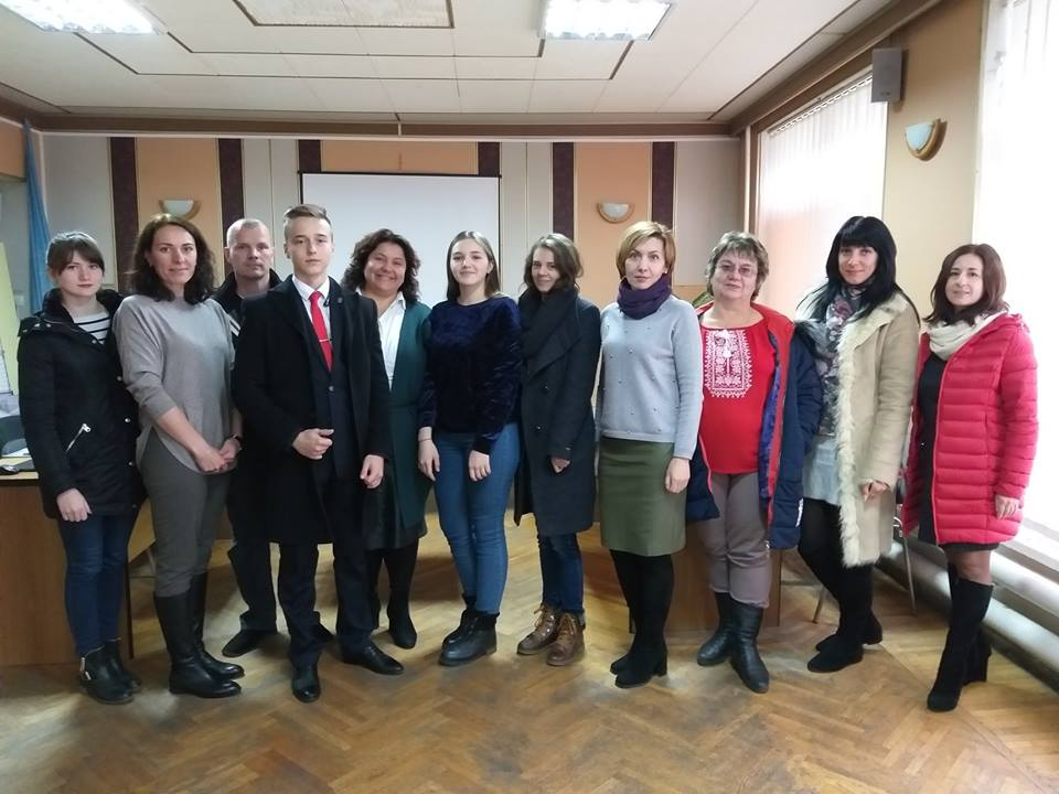 "Eurostrategy in the city of Cherkasy. As part of the implementation of the UNICEF initiative ""Child and Youth Friendly Community""."