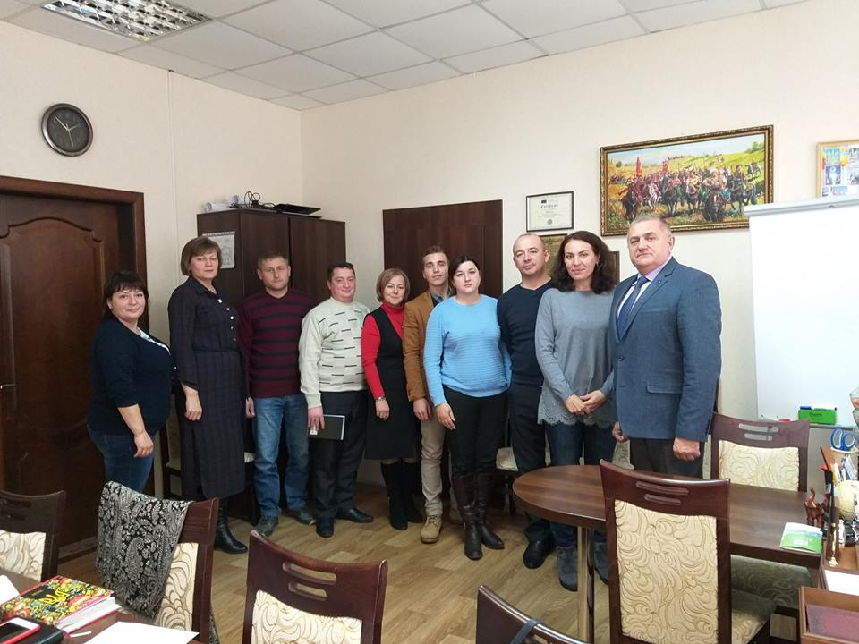 Eurostrategy visited the Bilozirska ATH. Within the framework of the implementation of the