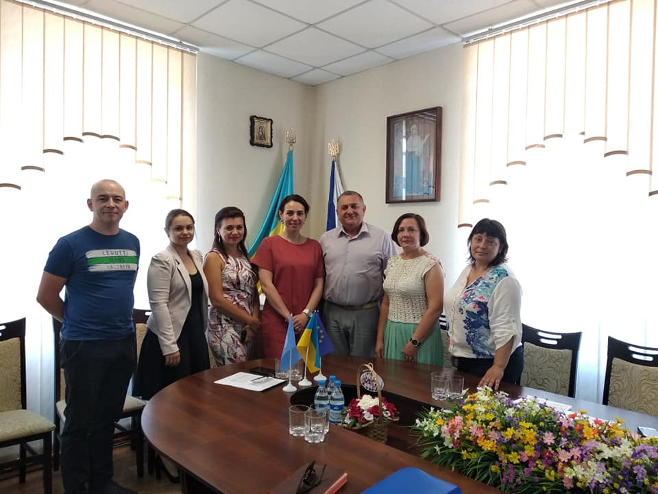 Working meeting at Belozerskaya ATC on June 21, 2018 within the framework of the initiative
