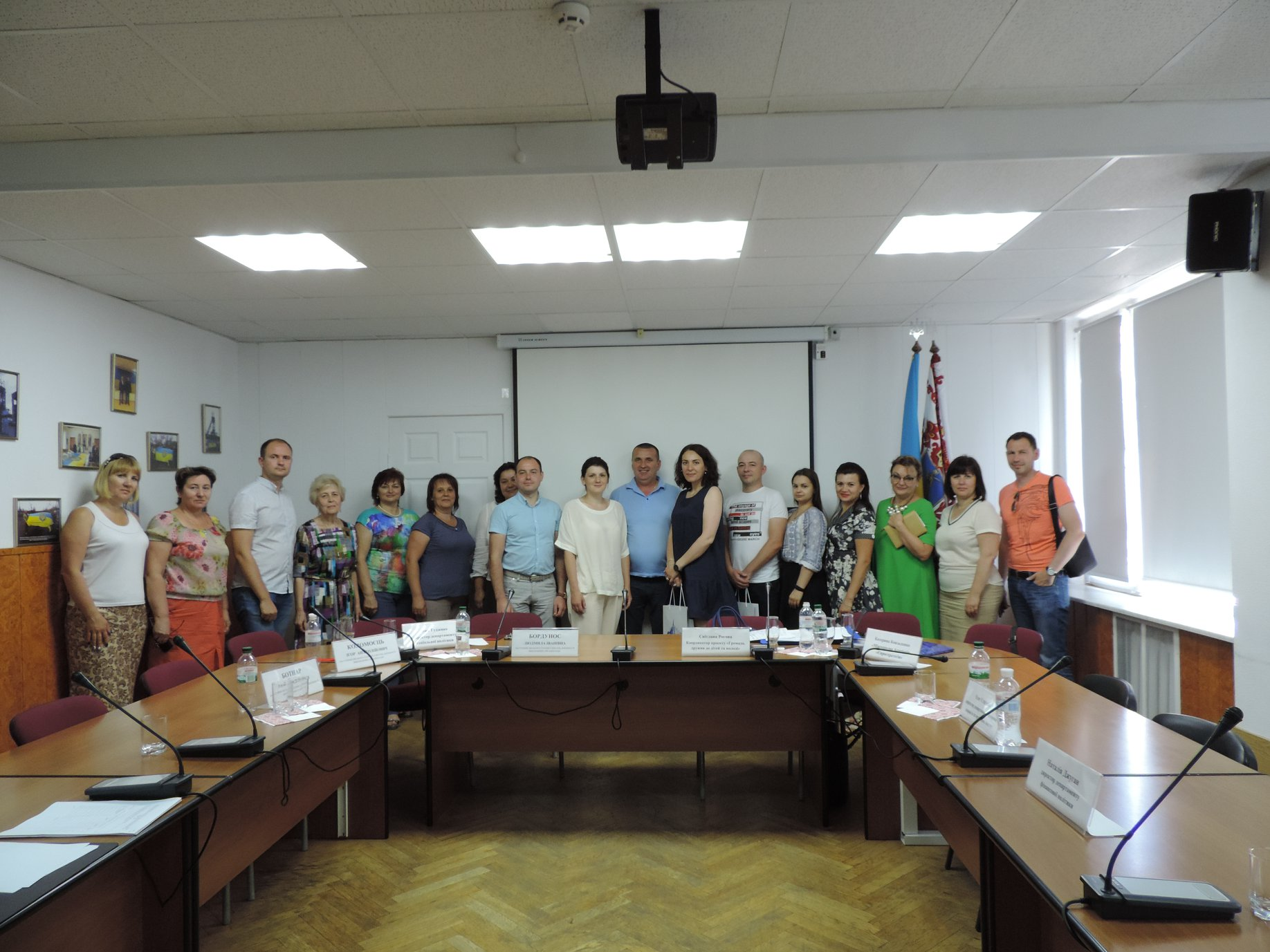 Working meeting at the city Cherkasy on June 22, 2018 within the framework of the initiative