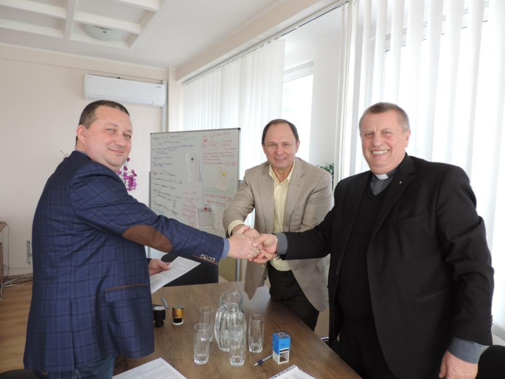 "Memorandum of Partnership between the Caritas-Spes Ukraine, the Social Investment Council and the International Association ""Eurostrategy""."