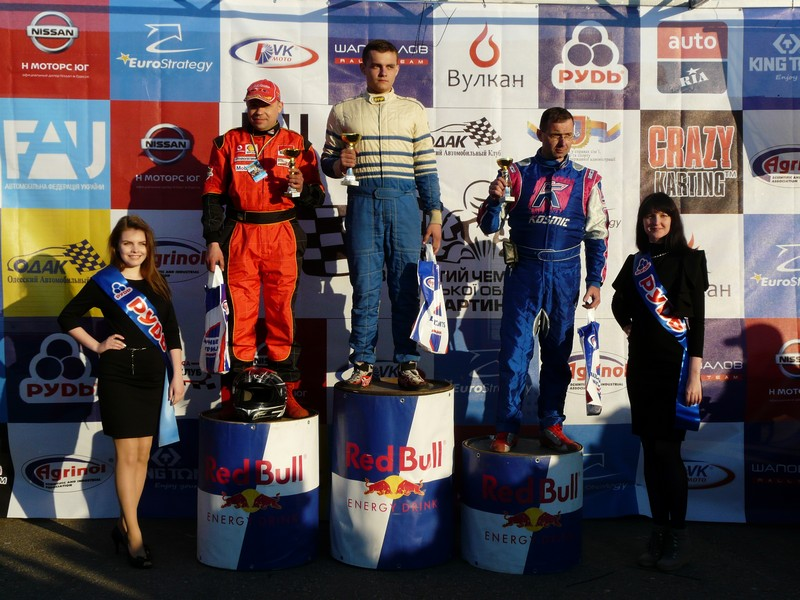 The first open karting championship - Odessa, 2017