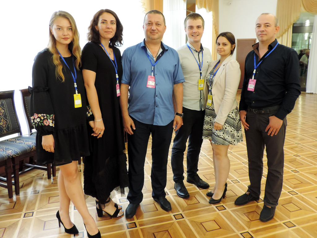 Odessa receives guests. The conference