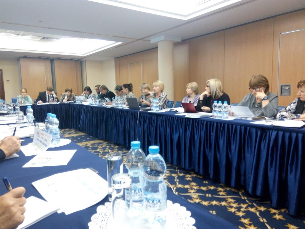 The working meeting about preparation of the model of social services and child protection at the level of the work UTC