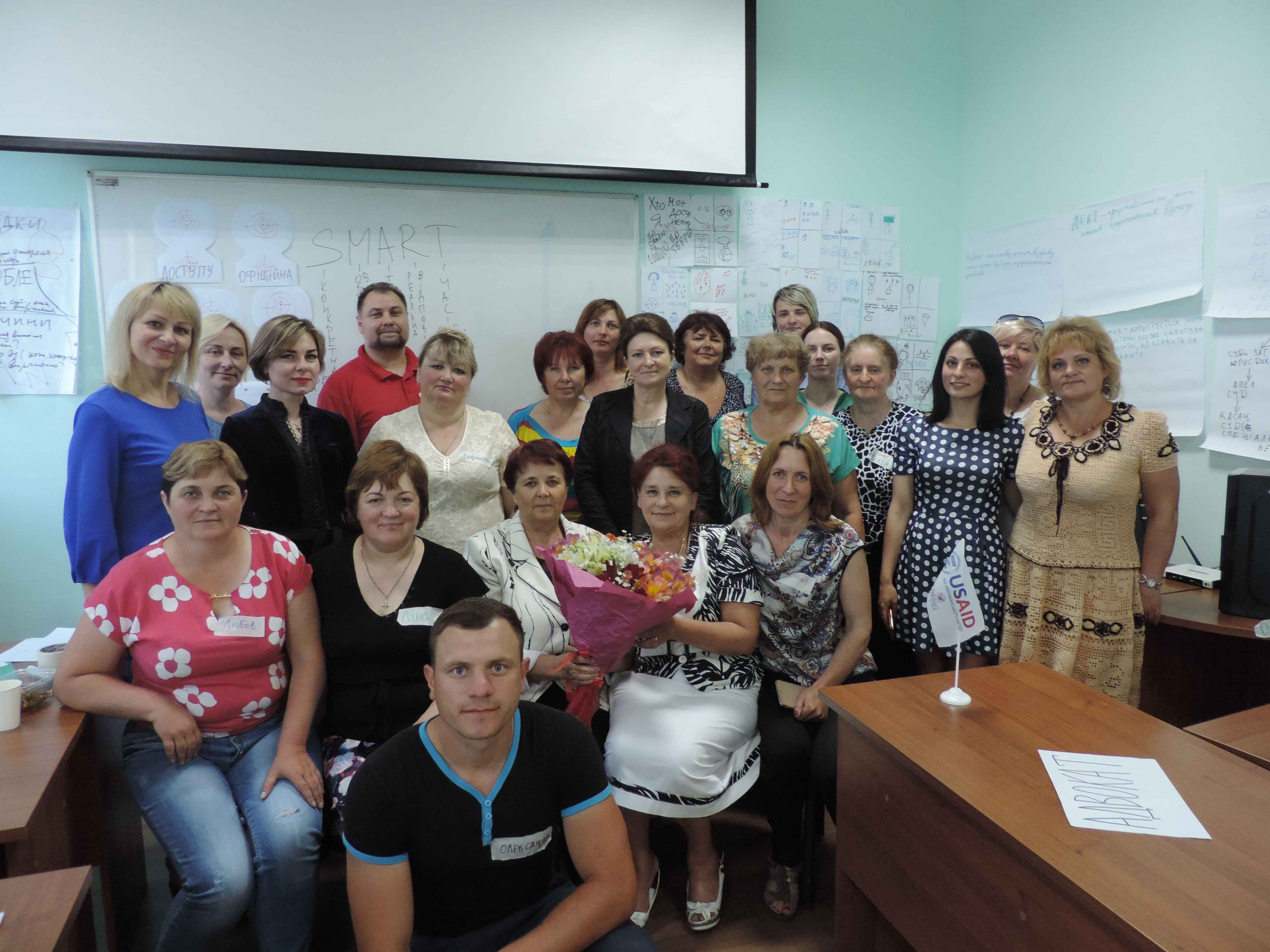 Advocacy - planning for women farmers in Ukraine
