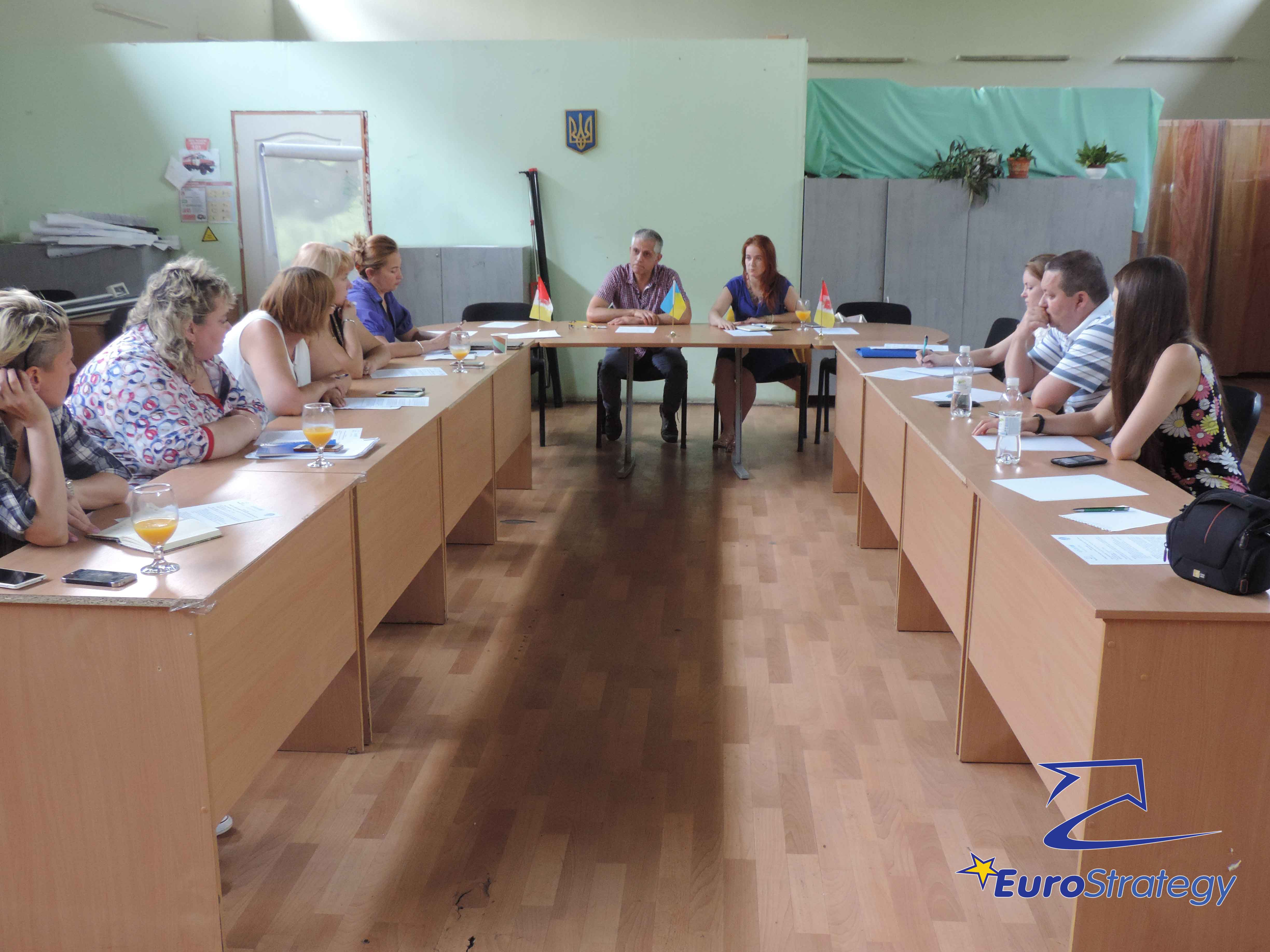 UNICEF working meeting in Odessa: Introduction of an integrated social sector system
