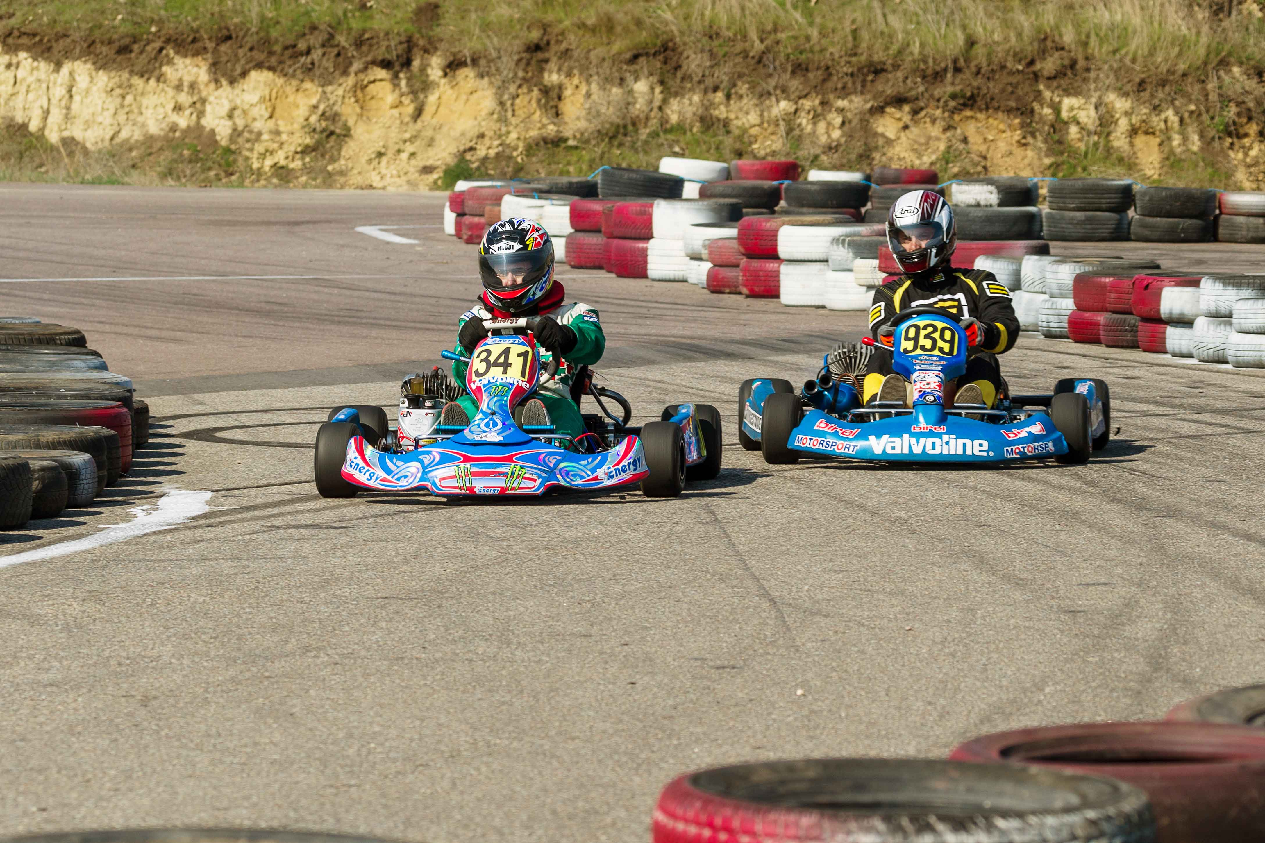 The first round of Odessa region open championship in carting
