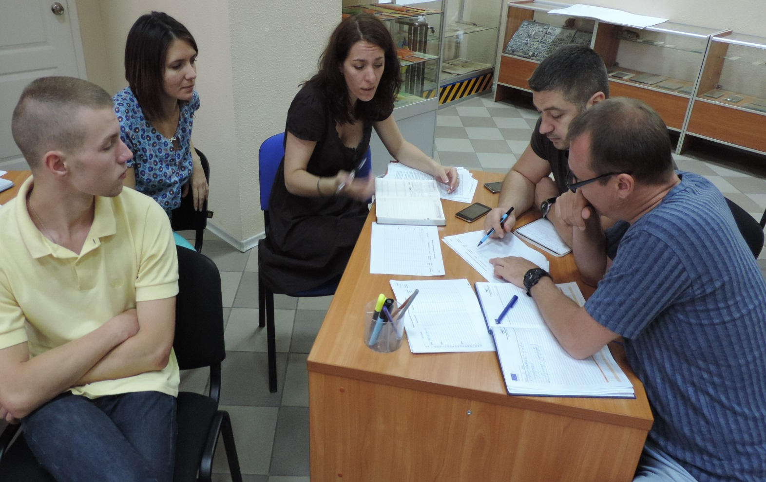 WORKING MEETINGS IN THE FRAMEWORK OF THE PROJECT «PRESENTATION OF PROJECT RESULTS
